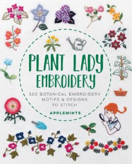 Plant Lady Embroidery - applemints