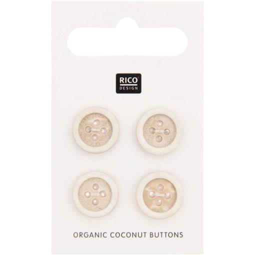 Rico Design Coconut button