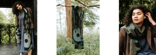 shawl hanging Pom Pom Quarterly Autumn 2021 - Issue 38