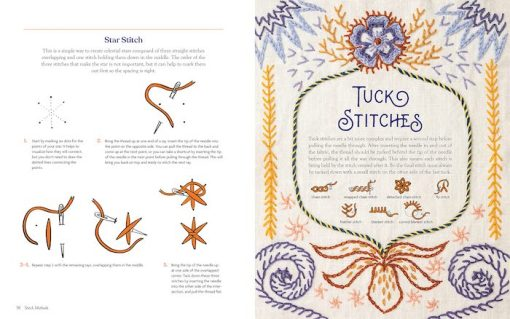 inside look Mystical Stitches: Embroidery for Personal Empowerment and Magical Embellishment - Christi Johnson