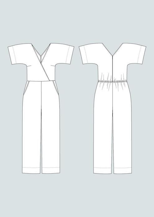 TAL Wide leg jumpsuit