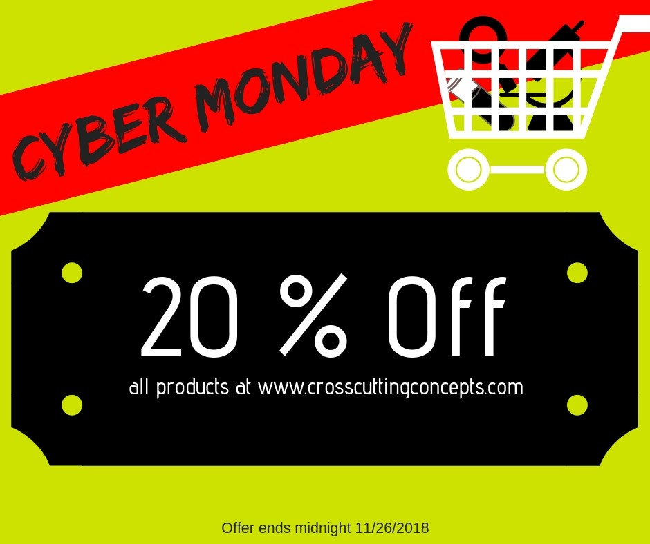 Cyber Monday Sale 20% Off