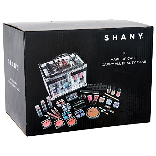 SHANY Cameo Cosmetics Carry All Trunk Makeup Kit With