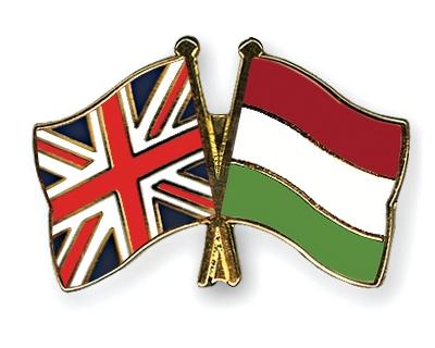 magyar és brit zászló
