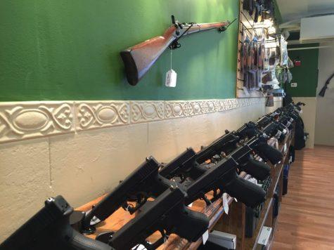 Community takes aim at new gun store