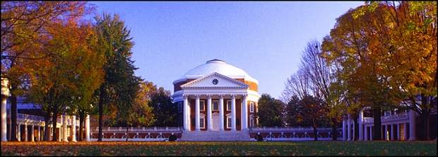 UVA+rotunda+on+campus+quadrangle