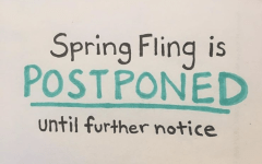 High winds force Spring Fling reschedule