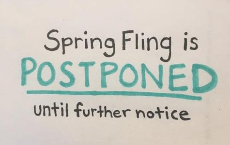 High winds force Spring Fling reschedule