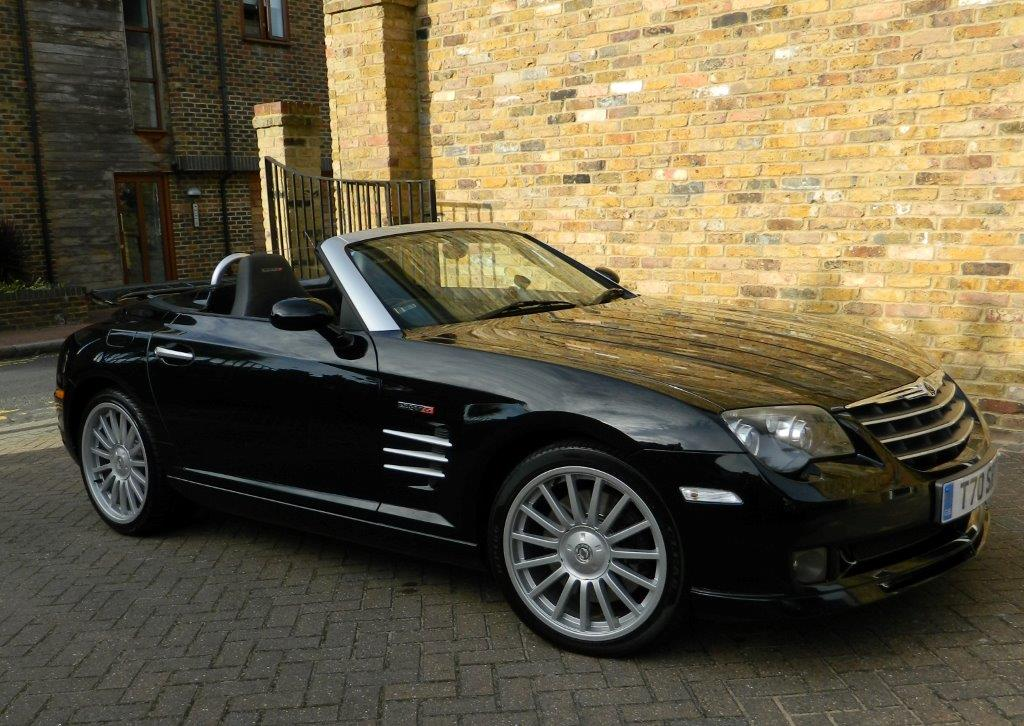 Black Chrysler Crossfire Convertible Images