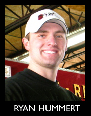 Firefighter Ryan Hummert
