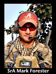 Senior Airman Mark Forester