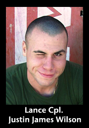 Lance Corporal Justin James Wilson