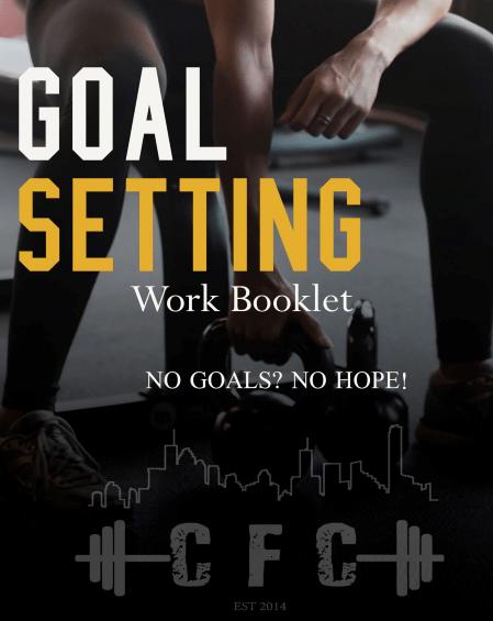 crossfit coorparoo goal setting booklet