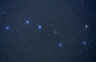 Big Dipper, star viewing is part of sunset, stars, solo circle program
