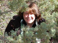 Teresa at home with juniper