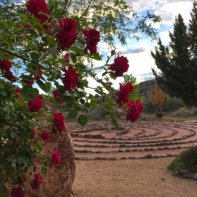 Sedona ceremony site: 7-Path Labyrinth