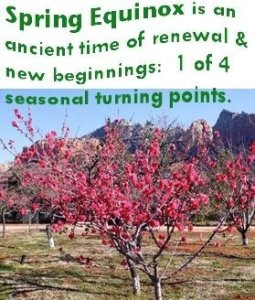 Spring Equinox Emerging Vision Nature Retreat and Full Moon Ceremony – Celebration in Sedona and surrounding areas