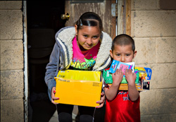 Youth really enjoyed getting school supplies that was part of our Hopi winter gifting program.