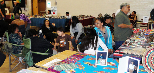 Hopi Yellow Fox Dance Group family circle: