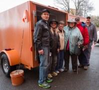 Produce loading crew Sedona, December. photo by Jackie Klieger