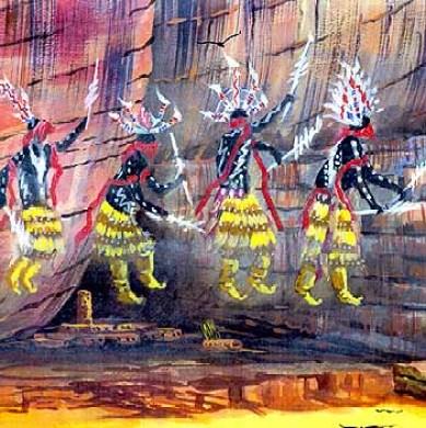 spiritual beings, Ancestral Puebloans, Yavapai-Apache