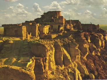 clifftop Walpi, built around 1300