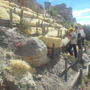 Hopi Ancestral Lands project does conservation projects and trains Hopi youth.