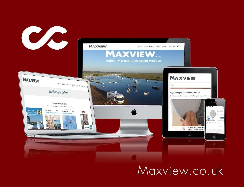 Maxview Ltd online shop design
