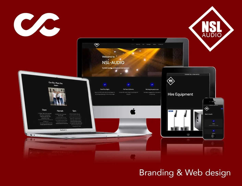 Web Design in Norfolk