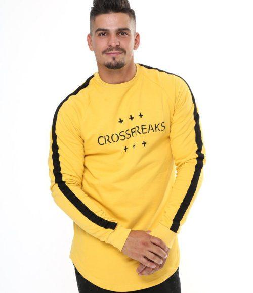 Reason Long-sleeve Shirt Yellow