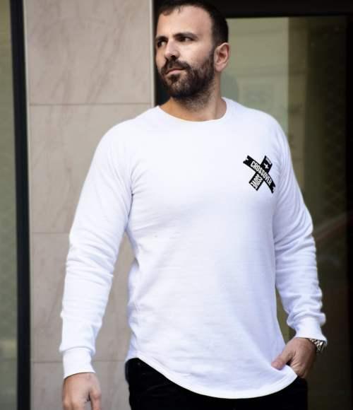 Hunter Long-sleeve Shirt White