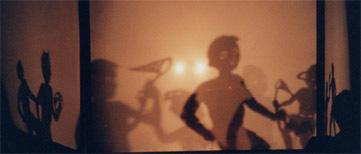 Body Tjak shadow puppets