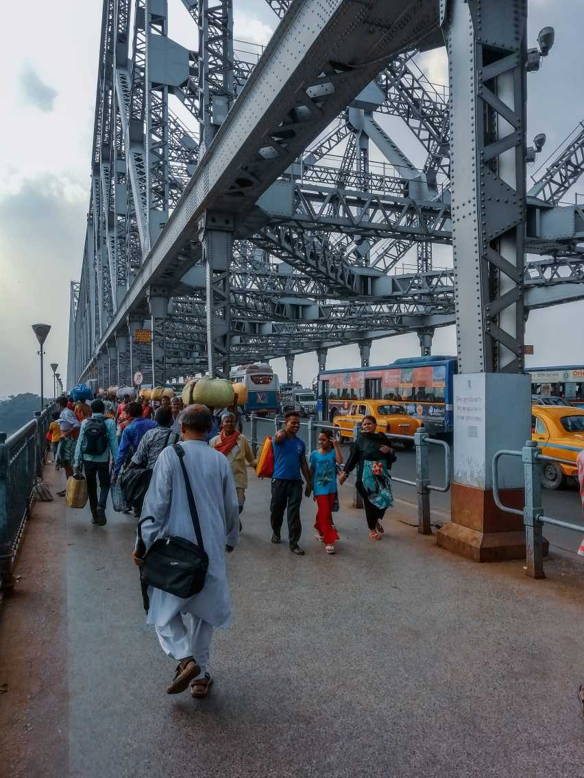 Howrah bridge - Heart of Kolkata City