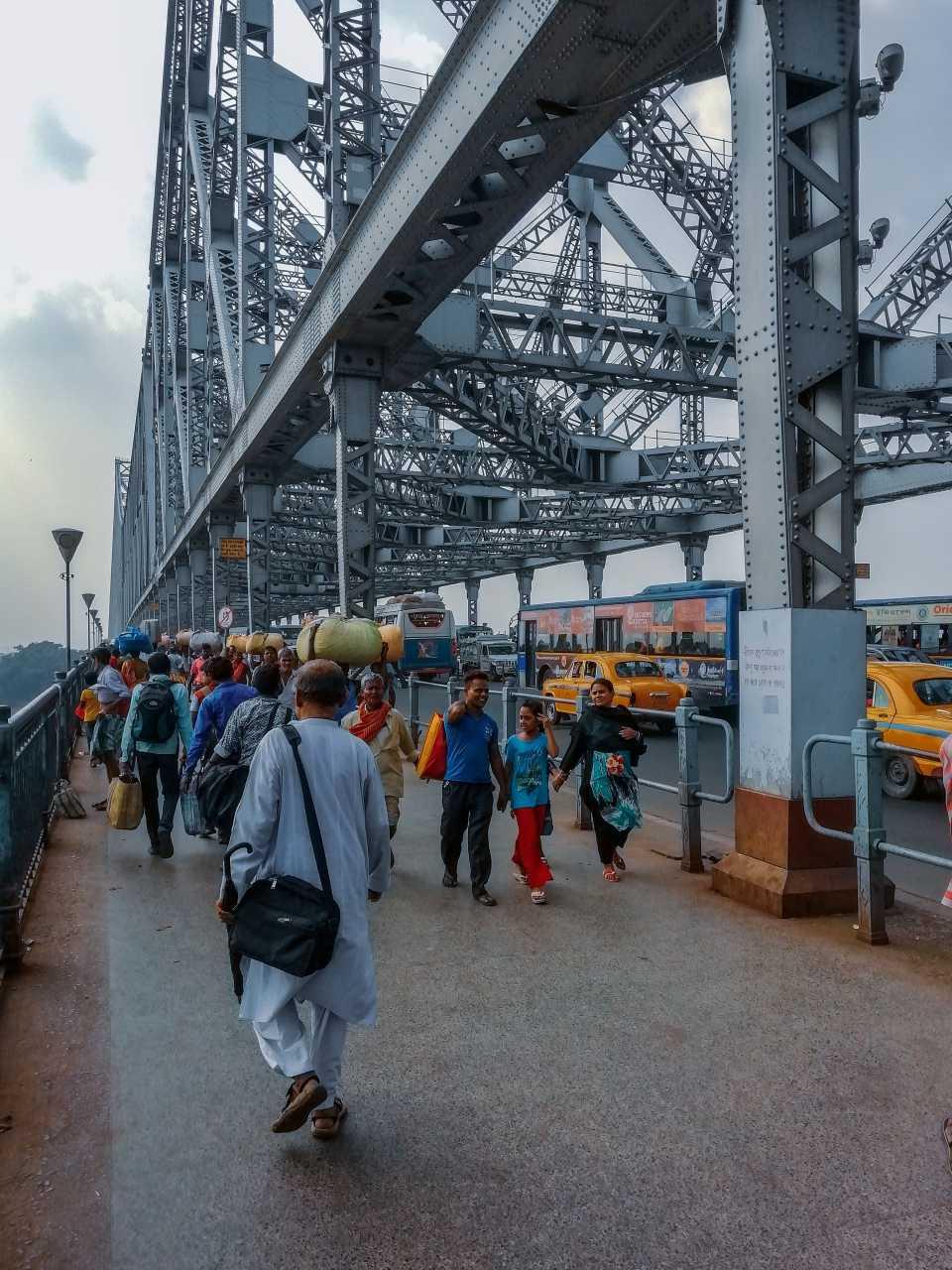 Howrah bridge - Heart of Kolkata City