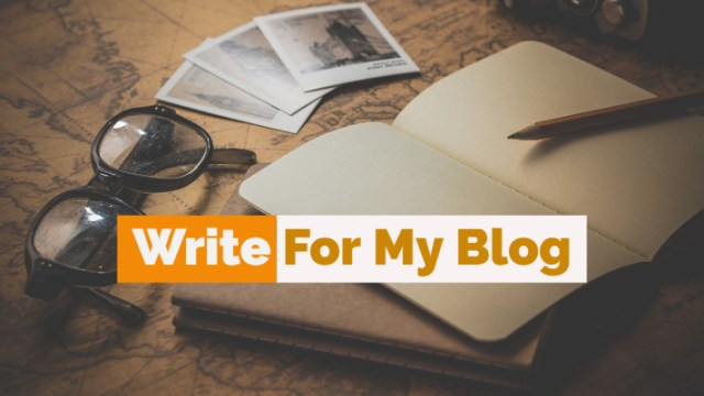 Write For My Blog