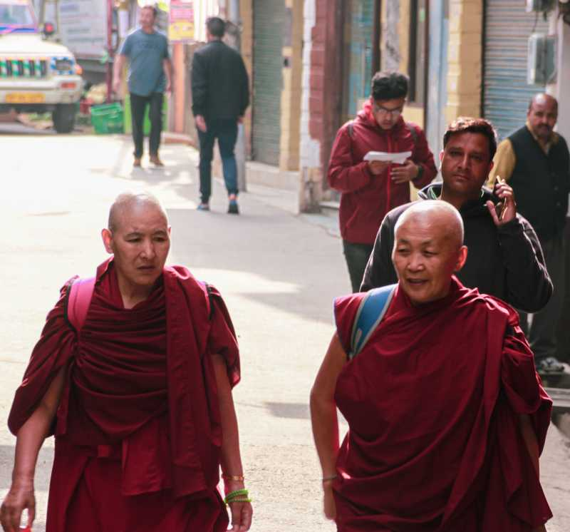 Tibetans at MacLeod Ganj