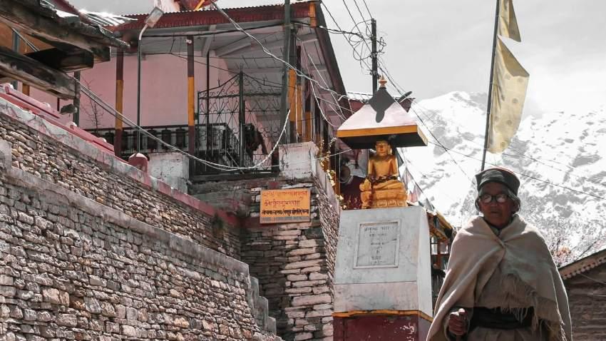 Outside of Monastery in Kalpa