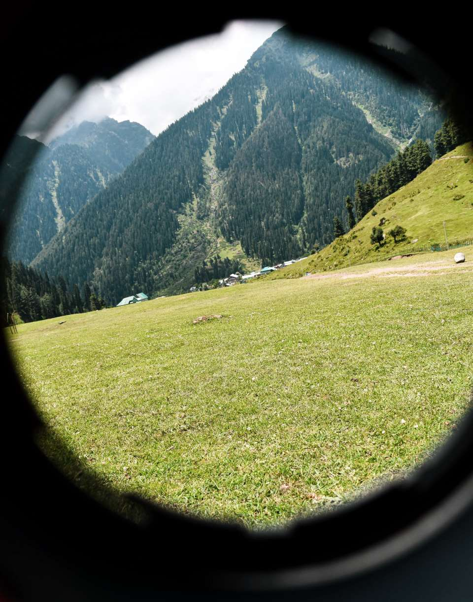 Beautiful Aru Valley Pahalgam from other perspective