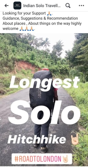 Solo Hitchhike in India