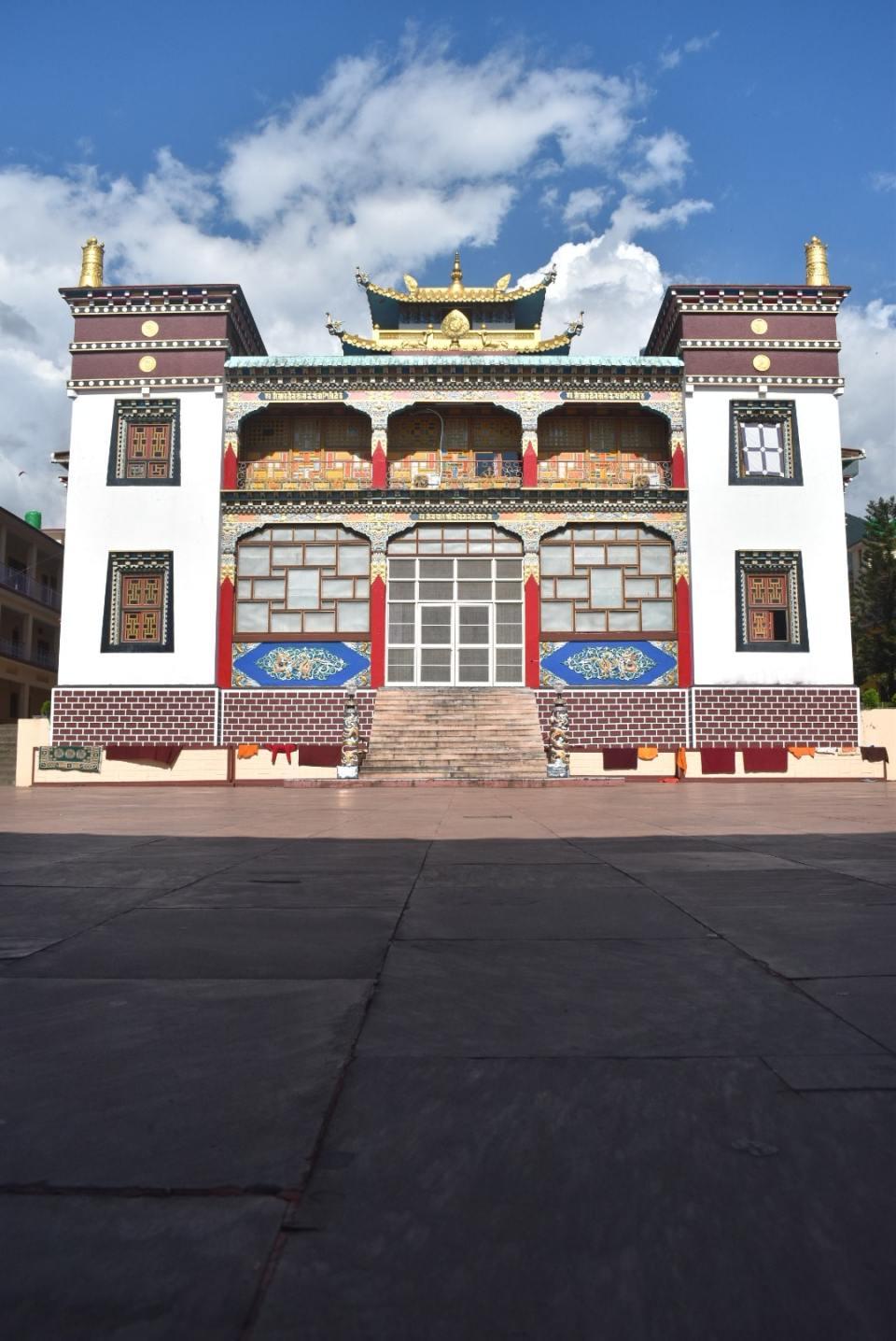 Nyingyang Monastery in Bir