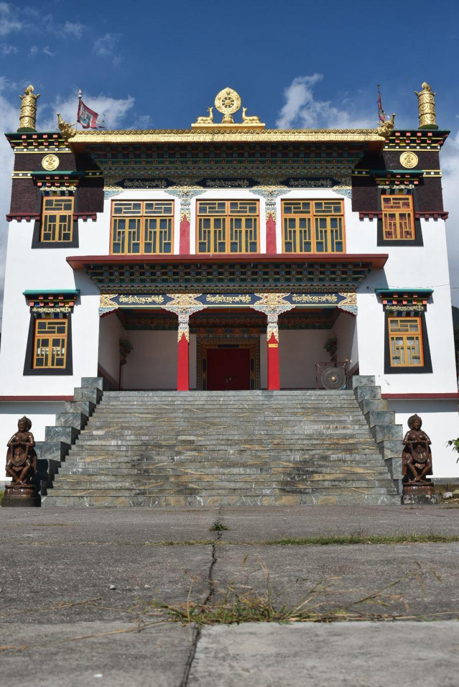 Tsering Jong Monastery in Chaugan