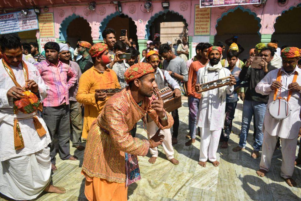 Get involved in the mad celebrations at Huranga Holi