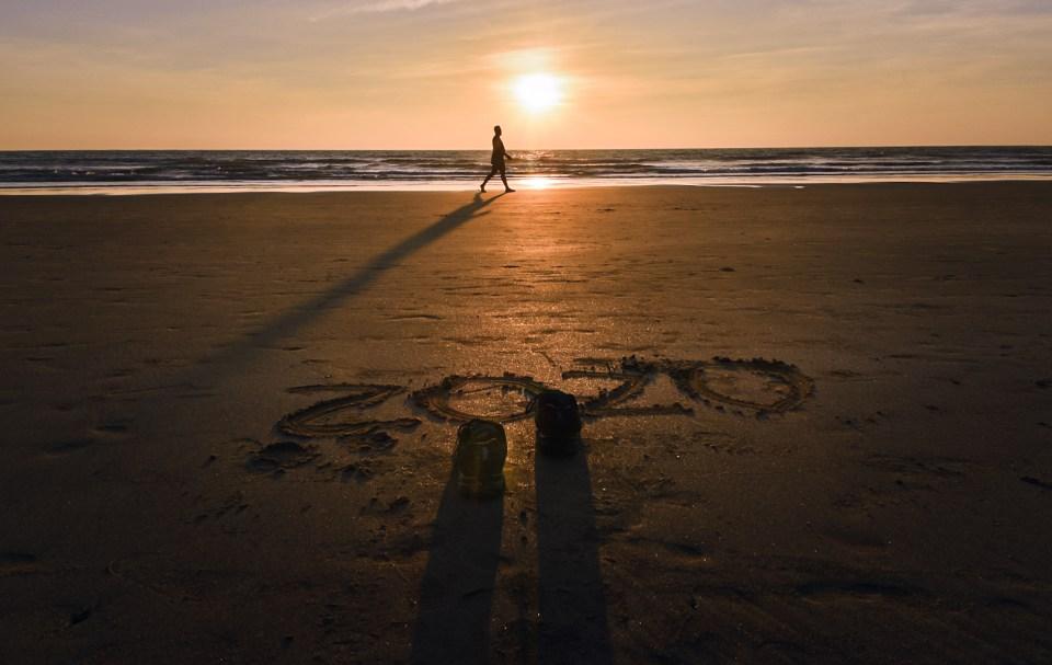 An Evening Walk in Goa