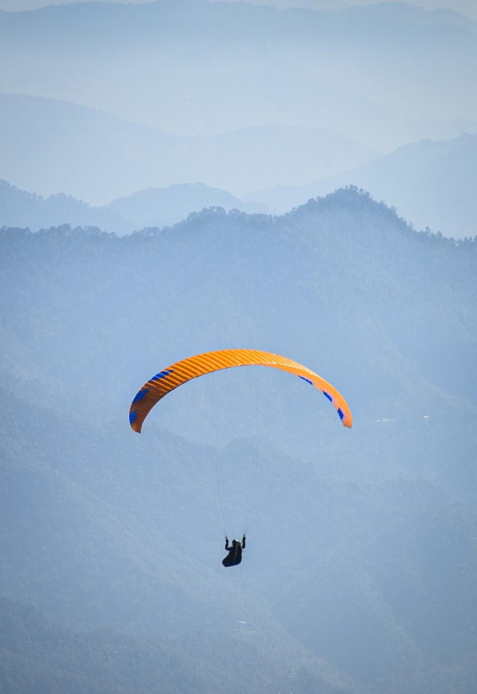 Flying season in Bir Billing