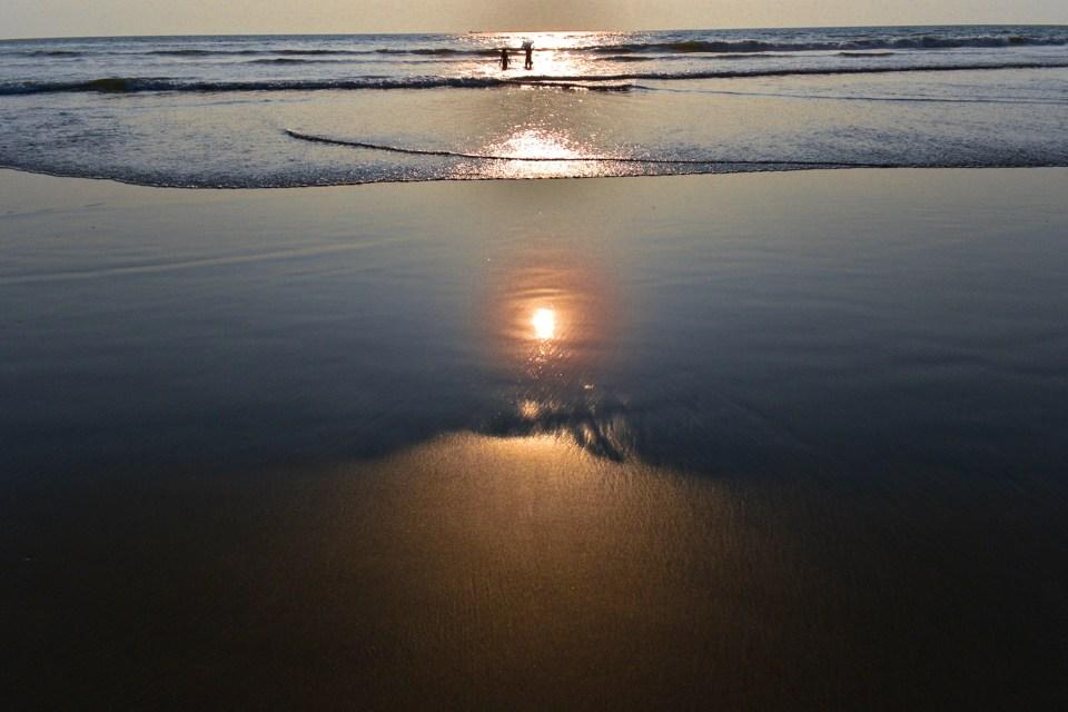 Image Shot at Mandrem Beach in Goa