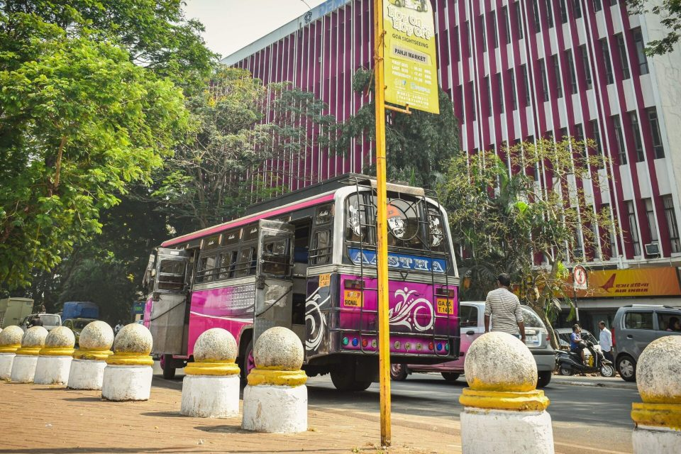 Goa Local Bus would a cost saver in your 3 days in Goa