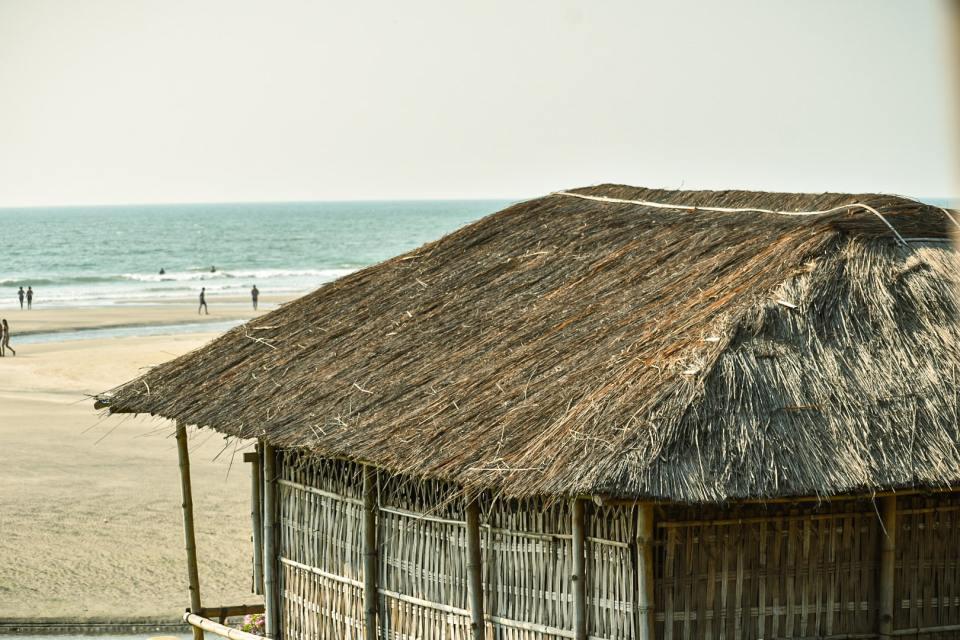 House on the Mandrem beach side
