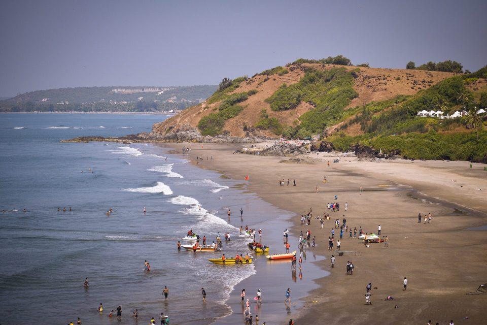 Anjuna Beach in Goa is a must visit in your 3 days in Goa
