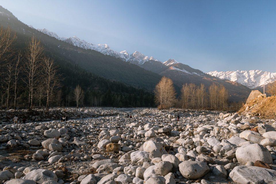 The big stones towards the River Stream