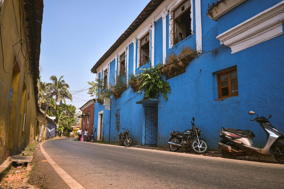 Streets of Old Goa